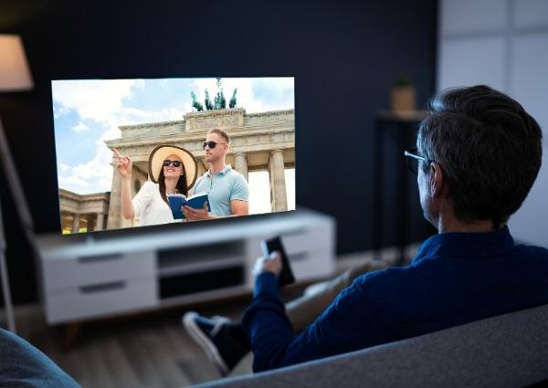plateformes de streaming sur la TV