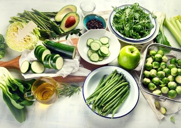 Brûleurs de graisse extra forts naturels : légumes verts
