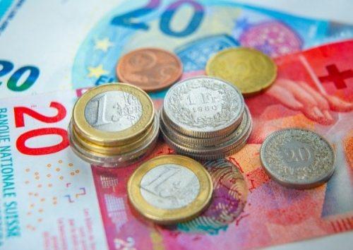 Change du franc suisse à l'euro